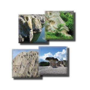 Подложки за чаши с изгледи от Родопите